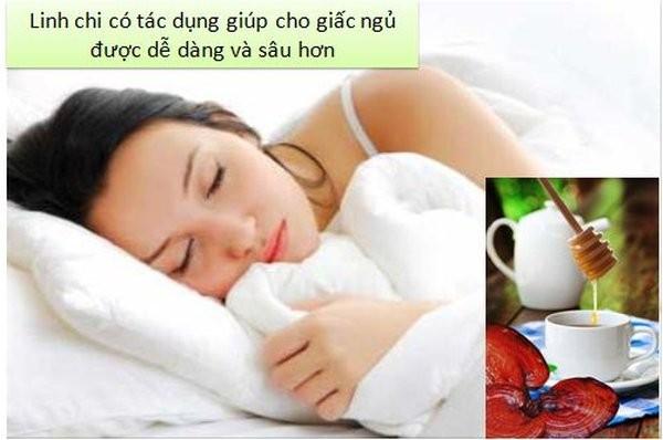 Ngủ ngon giấc hơn nhờ nấm linh chi đỏ