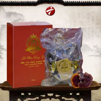 Nấm lim xanh Quảng Nam Lê Phúc Hoàng Gia loại hộp 200g L303