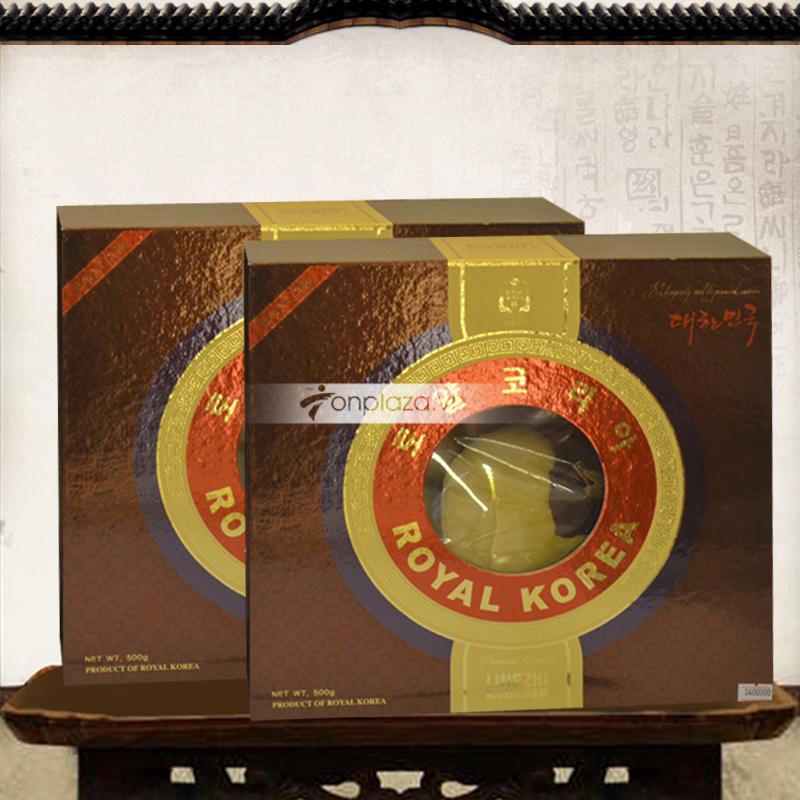 Nấm linh chi hoàng gia nguyên tán Royal hộp quà tặng L024
