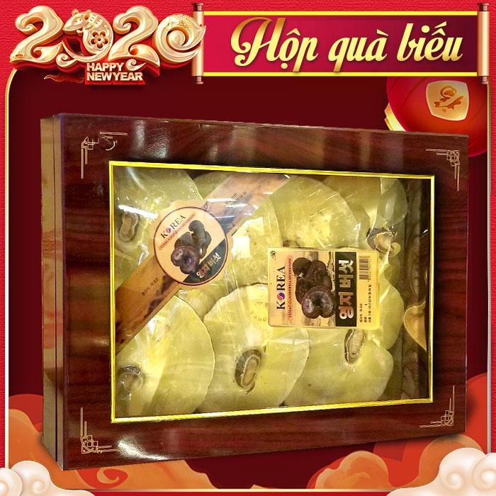 Nấm linh chi thượng hạng hộp quà biếu L027