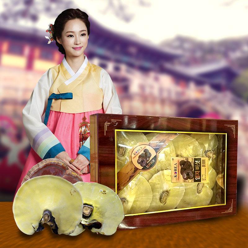 Hộp quà biếu Nấm linh chi thượng hạng L027