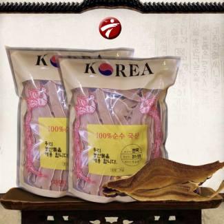 Nấm linh chi Vàng thái lát Hàn Quốc (1kg/túi) L007